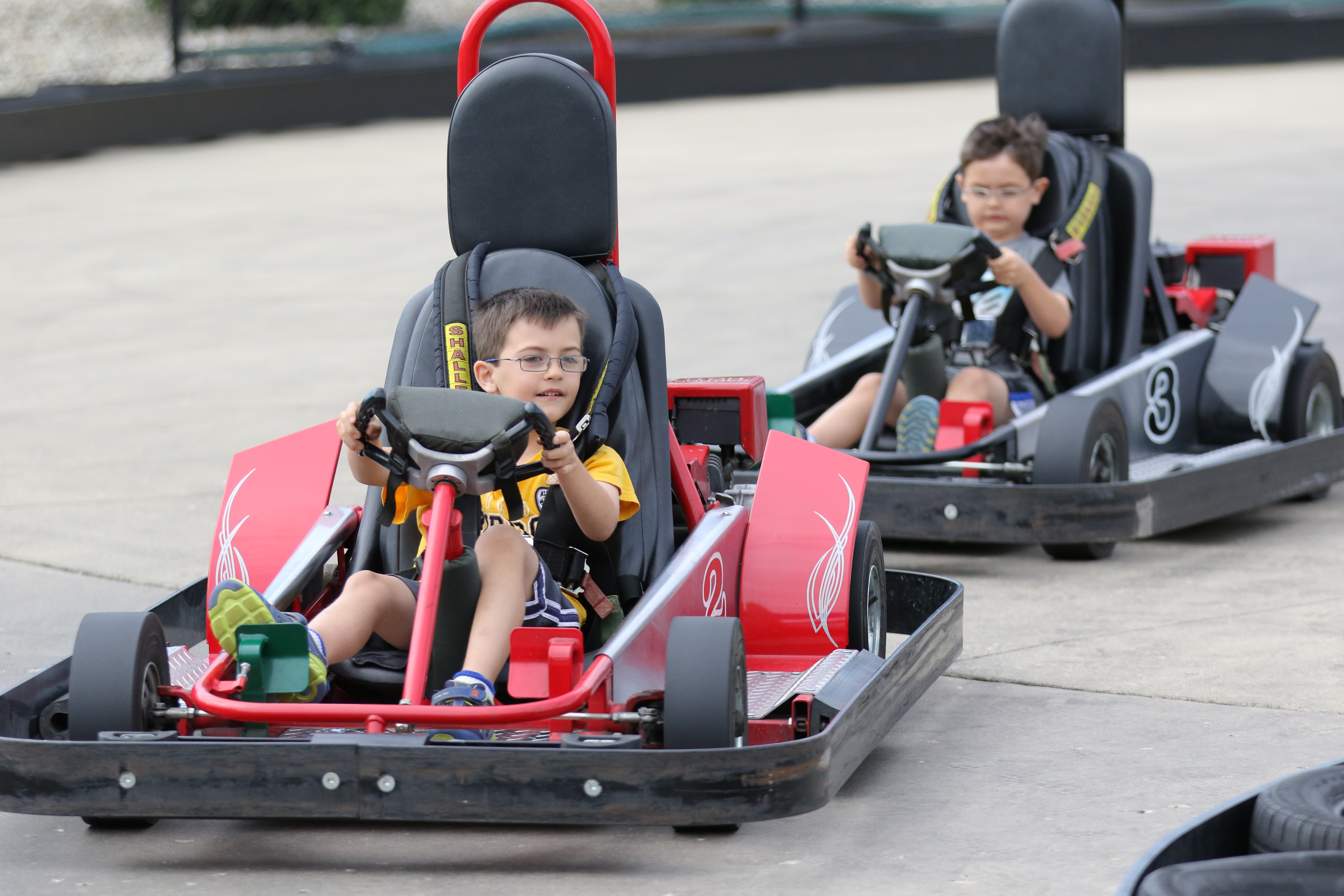Outdoor Go-Kart Track, Slick Track, Racing & Go Kart Parties