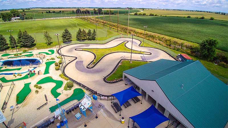 Go Kart Track, Mini Golf, Driving Range, Kids Parties